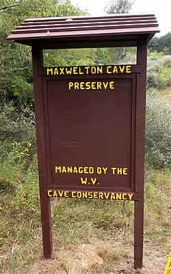 Maxwelton Cave Kiosk